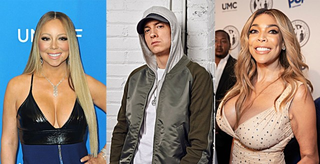 """Wendy Williams: """"Eminem is so hot…I believe everything he says about Mariah Carey"""""""
