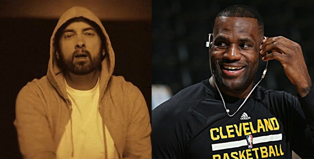 """LeBron James reacts on Eminem's new album: """"Love when you drop music, hommie"""""""