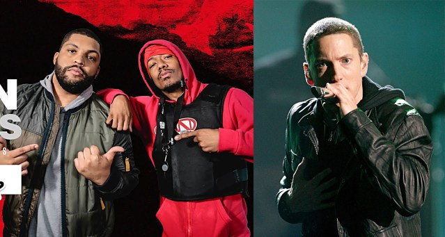 """O'Shea Jackson Jr. to Nick Cannon: """"Eminem is my top five. I love that motherf**ker"""""""
