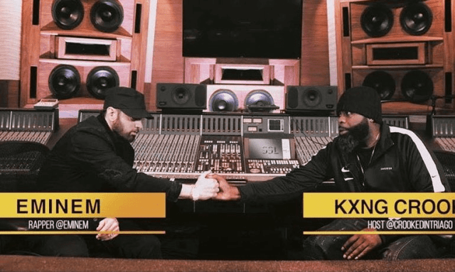 WATCH: Kxng Crooked interviews Eminem (Teaser)