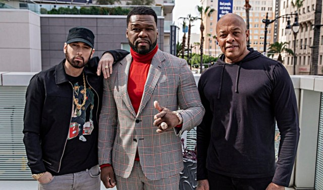 50 Cent says he'd risk his own health to protect Eminem & Dr. Dre from Coronavirus