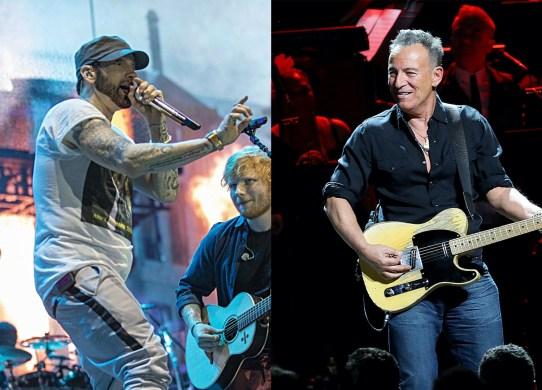 Bruce-Springsteen-Eminem-Irish-Album-Charts