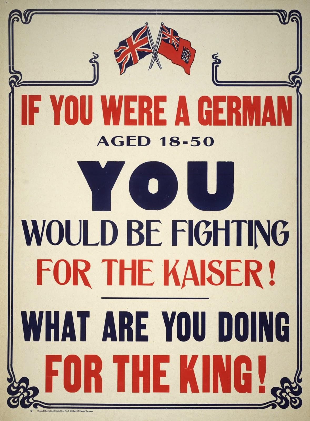 10 World War I Propaganda Posters