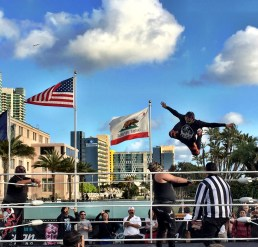2016 San Diego Taco Fest Lucha Libre Wrestling