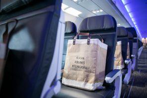 Alaska Airlines Gift Bag