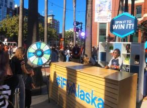 Alaska Day Prize Wheel