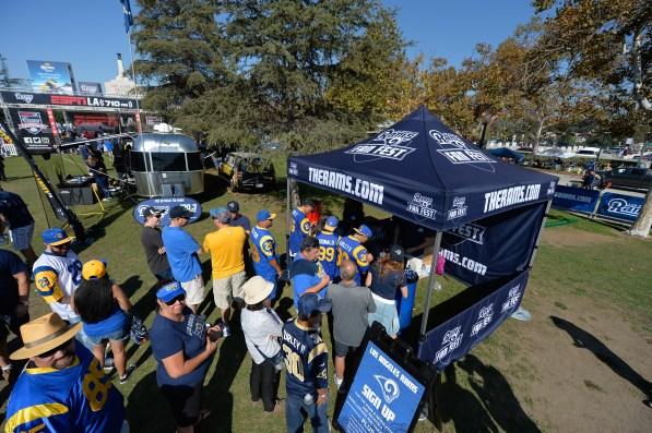 LA Rams Fan Fest