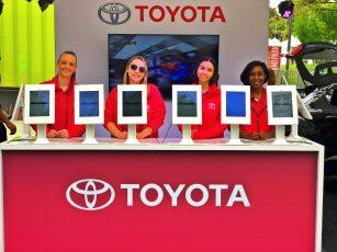 Toyota Brand Ambassadors - Event Staffing