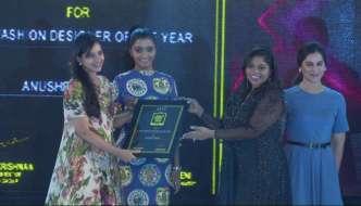Anushree Reddy wins SouthScope's Best Fashion Designer of the year Award