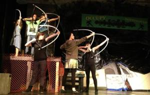 Actors from Anything Is Possible Theatre's Production of Robin Hood