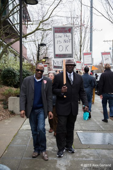 Seattle University Students And Faculty Join In National Walk Out South Seattle Emerald