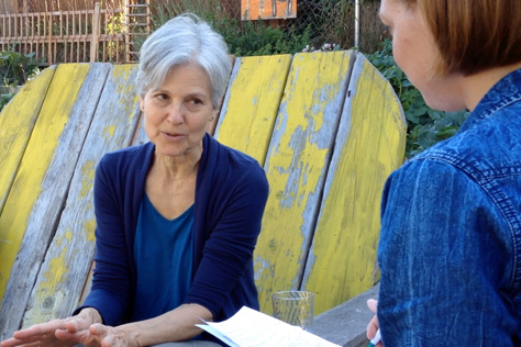 Dr. Jill Stein interviewed at Hillman City Collaboratory