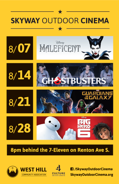 Skyway Outdoor Cinema 2015 Lineup