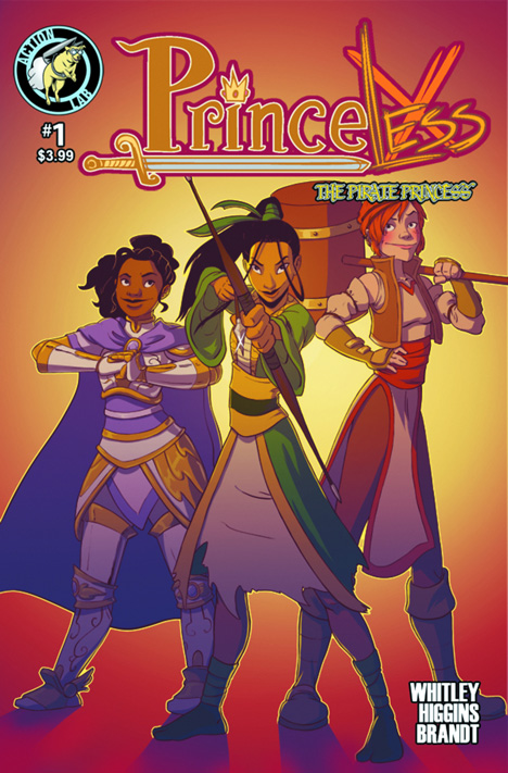 "Cover of ""Princeless: The Pirate Princess"" by Jeremy Whitley"