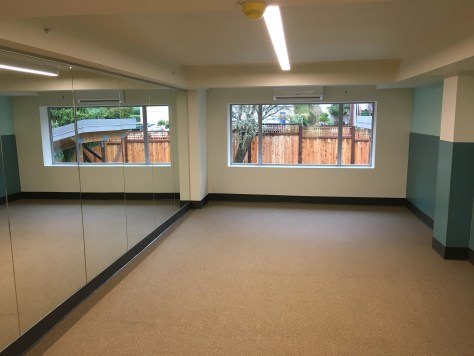 Image 5 Caption--Focusing on a holistic approach to drug addiction recovery, the facility hosts a yoga room.