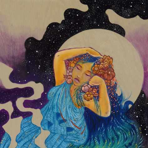 Sleeping Lady - 12x12