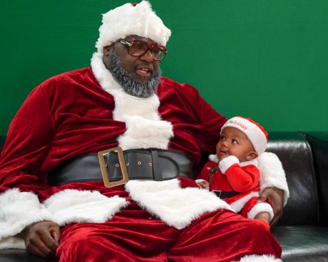 Santa -Langston 1- baby Quinton