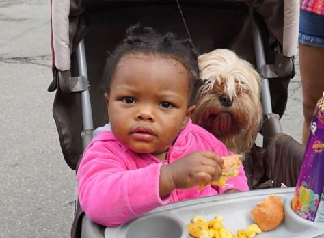 Afro Bite 15 girl & dog -1