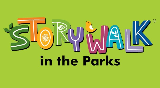 StoryWalk in the Parks graphic courtesy of Seattle Public Library
