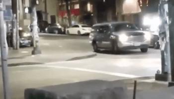 Video still image of vehicle