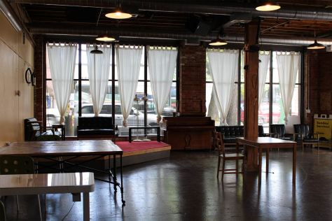 The Hillman City Collaboratory sits empty as supporters fight to save the space.