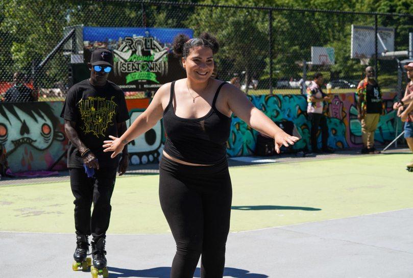 Third annual Juneteenth Soul Skate at Judkins Park.