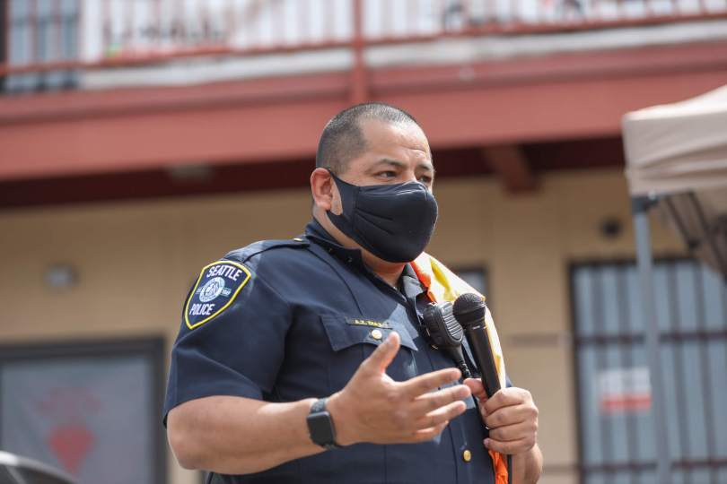 photo of Seattle Police Chief Adrian Diaz