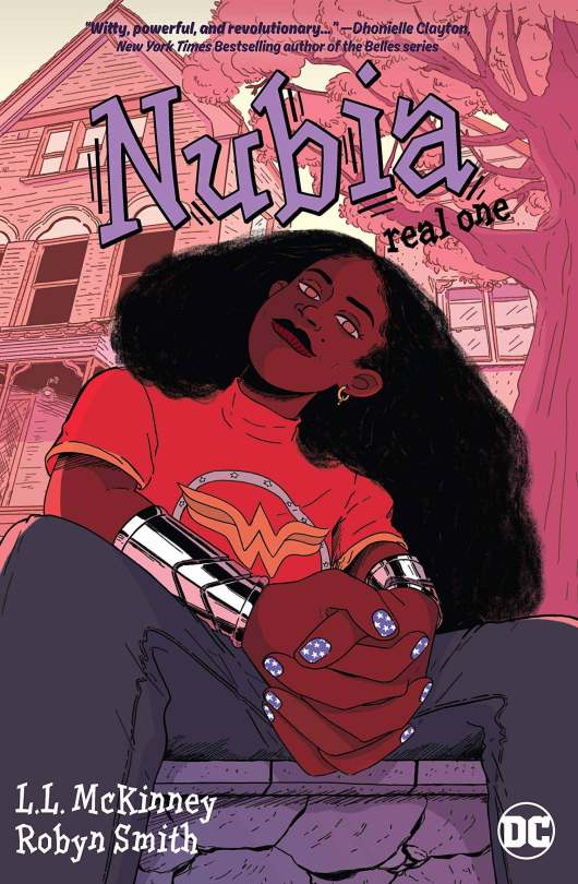 """Cover art of """"Nubia: Real One"""" by L. L. McKinney."""