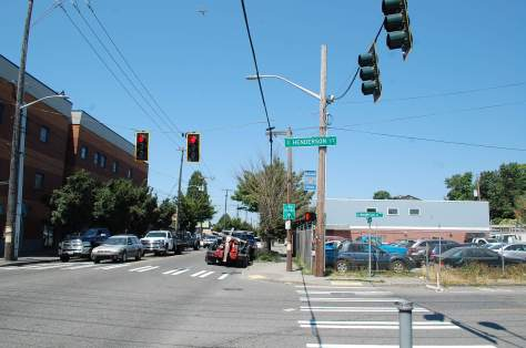 Photo of the intersection of 14th Avenue South and South Henderson Street.