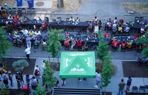 Dozens of current and former Central District families, many forced to leave due to gentrification, gathered on Saturday, July 17, 20211, for the Second Annual Reunion on Union Community Dinner and Block Party.