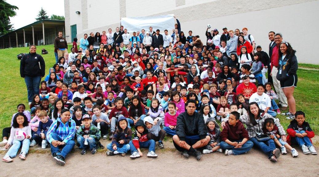 Group shot of dozens of YES! Foundation program participants (photo courtesy of YES! Foundation)