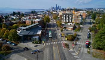 aerial photo of South Seattle