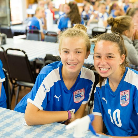 Emma and Libby U16 Elite
