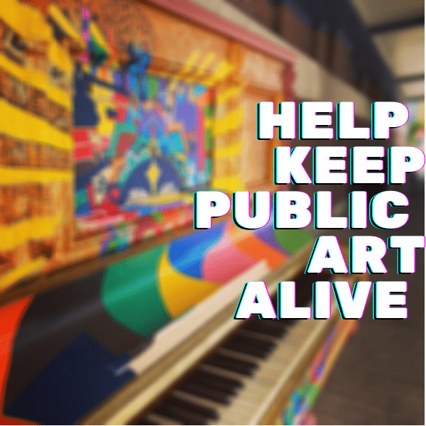 Public Art Project Donation For 2021 – A Street Mural