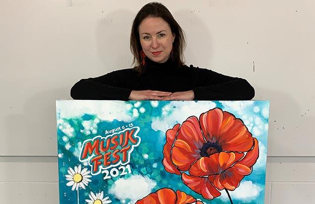 Mandy Martin (2021 Musikfest Poster Artist) Artist Talk