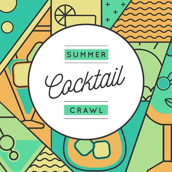 Sip And Slide Summer Cocktail Crawl