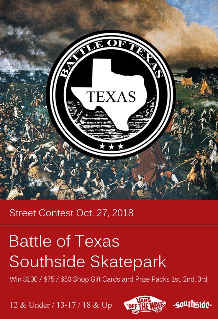 battle of texas street contest oct. 27 2018