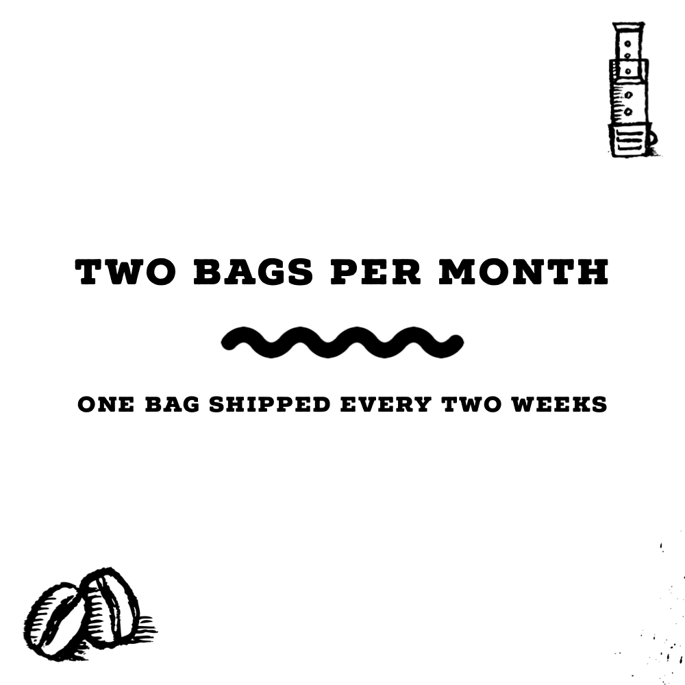 Two 12 Oz Bags (One Bag Shipped Bi-Weekly)