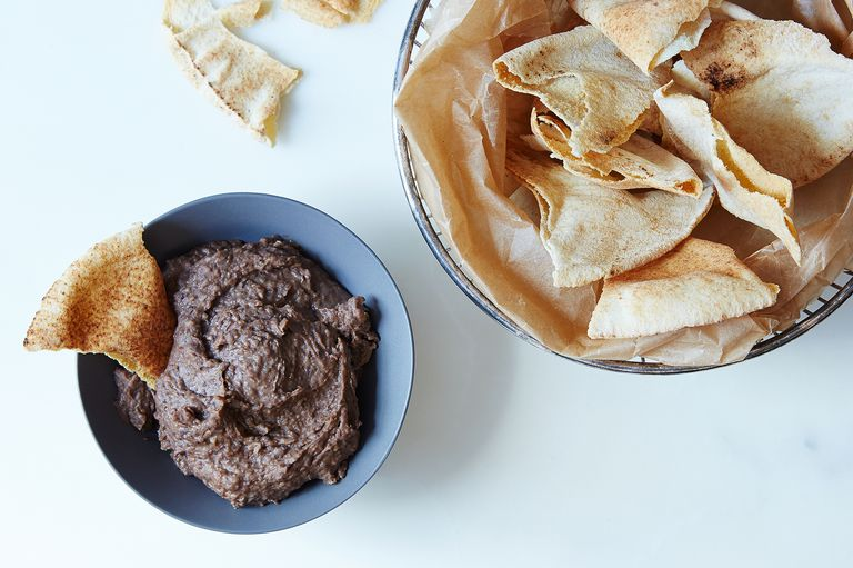Black bean dip made with coffee