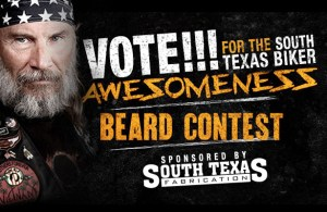 Vote for the South Texas Biker Awesomeness Beard Contest!