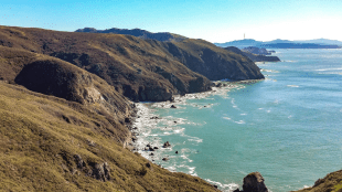 VAST LANDSCAPES Golden Gate National Recreation Area spans 77,000 acres, including miles of beaches from San Mateo County to Marin County.
