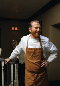 RICH HISTORY Executive chef Mikey Adams is designing a menu that pays tribute to the many immigrants who have made Gilroy home.