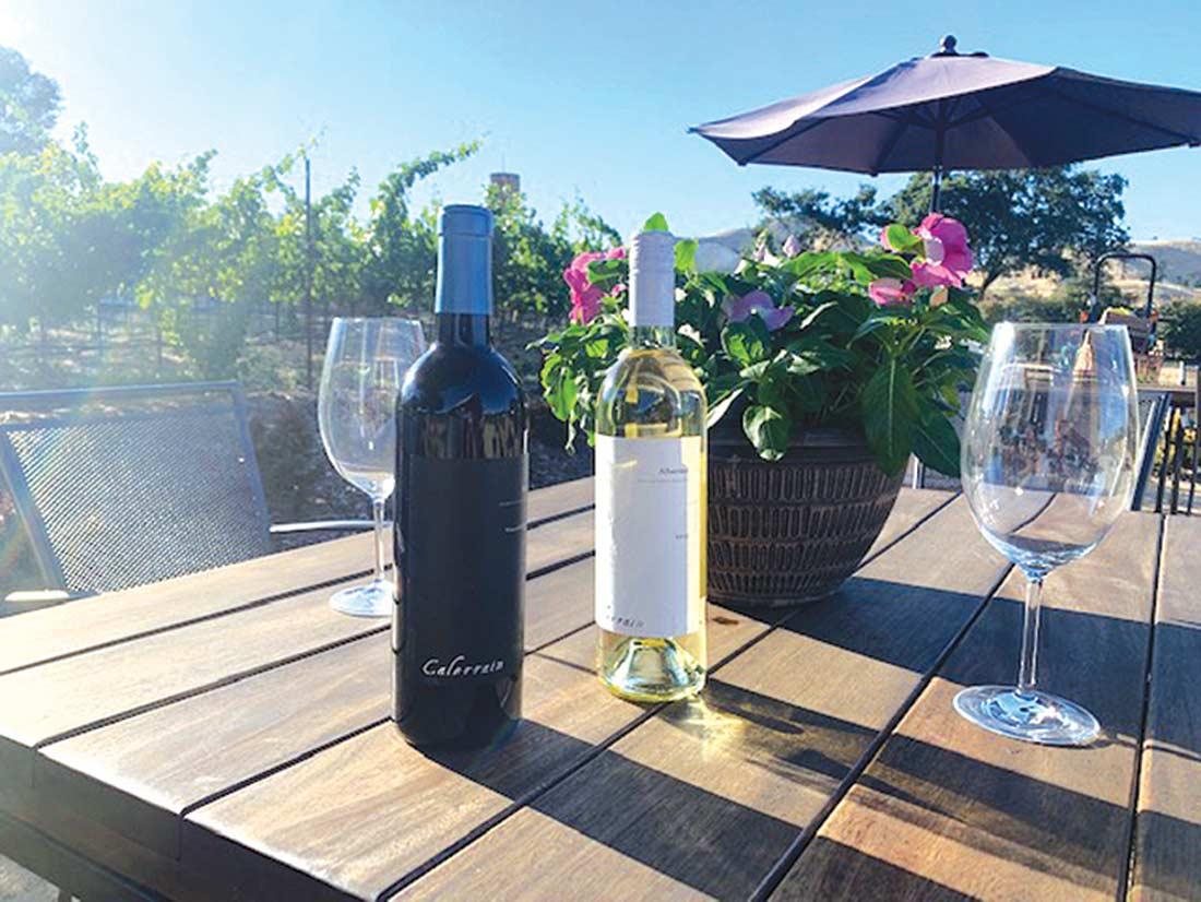 calerrain winery