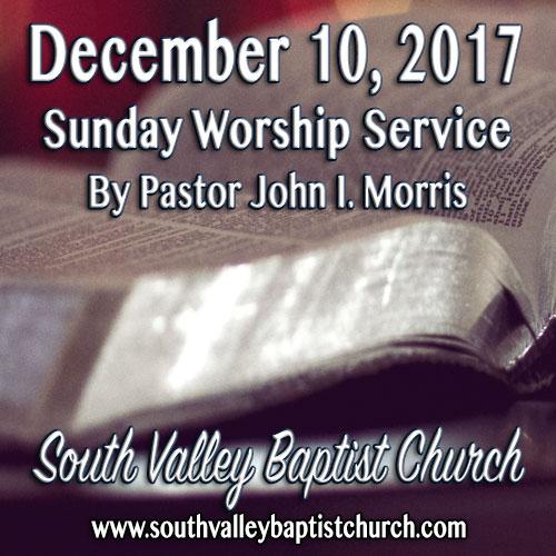 Sermon December 10 2017