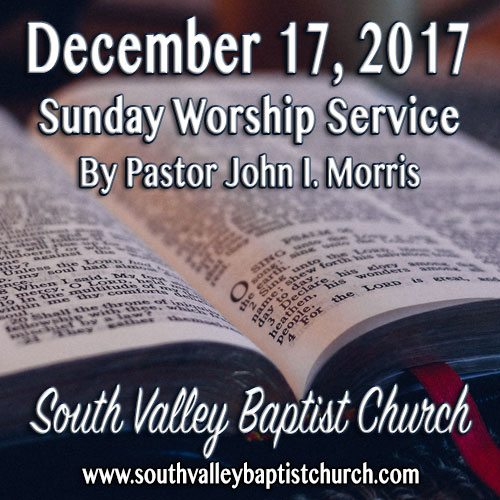 Sermon December 17 2017