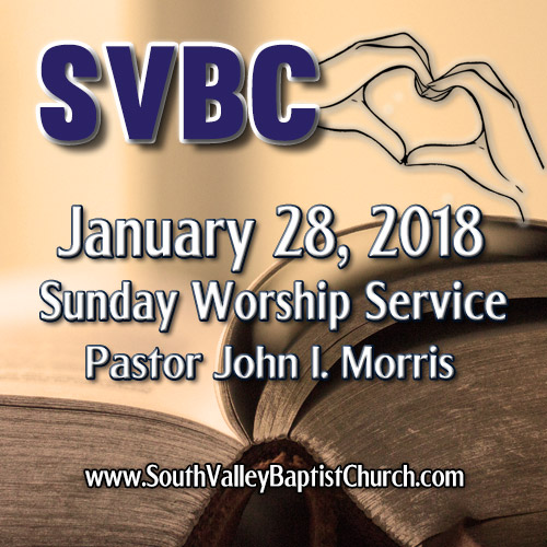 2018 Sermon January 28
