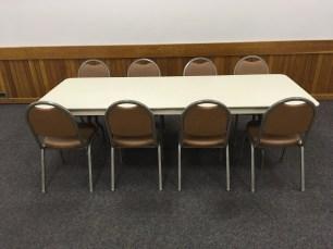 Rectangular Tables (8' x 2.5')