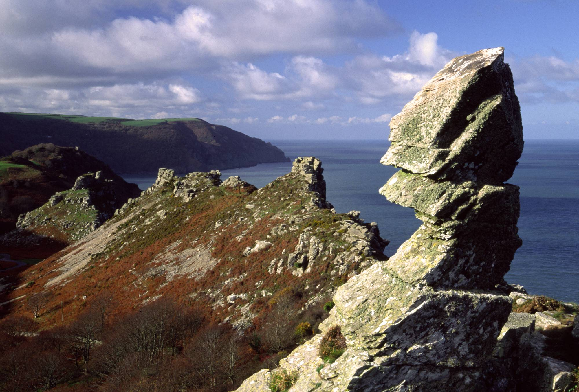 Lynton And The Valley Of Rocks Walk South West Coast Path