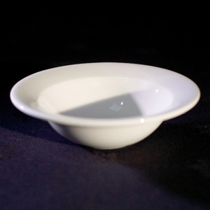 "White China 6 "" Round Dessert Bowl Alchemy"