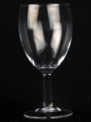 Wine Glass 6.6 oz / 190 ml ( standard white wine glass )